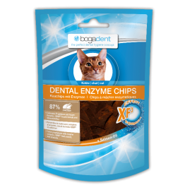 bogadent® DENTAL ENZYME CHIPS CHICKEN per Gatti 50 gr.