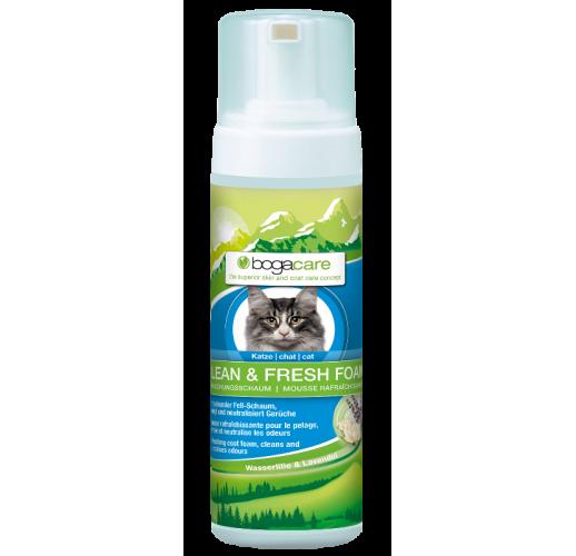 Bogacare® Clean & Fresh Foam - Schiuma per gatti 150 ml.