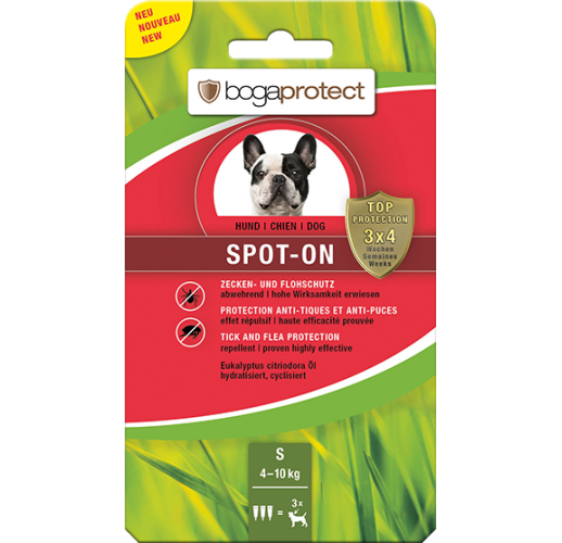 Bogaprotect Spot-On cane S 3 x 1.2 ml