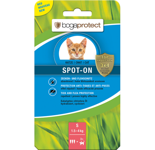 Bogaprotect Spot-On Cat S 3 x 0.7 ml