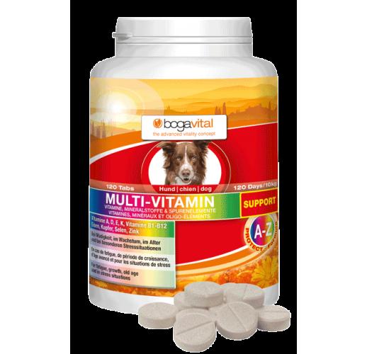 bogavital® MULTI-VITAMIN SUPPORT per cani 120 Comp.