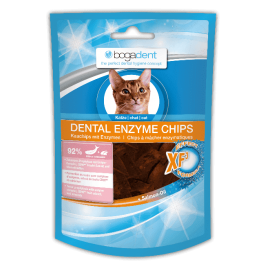bogadent® DENTAL ENZYME CHIPS FISH  per gatti 50gr.