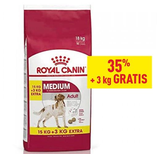 Royal Canin SHN Medium Adult 15 + 3 Kg Gratis
