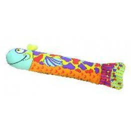 Crunch and Wrestle Fish Cat Toy