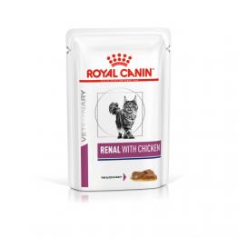 Royal Canin Veterinary Diet Cat Renal Chicken 85 gr