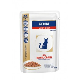 Royal Canin Veterinary Diet Cat Renal Beef 85 gr