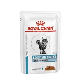 Royal Canin Veterinary Diet Cat Sensitiv Contrtol Chicken & Rice 85 gr
