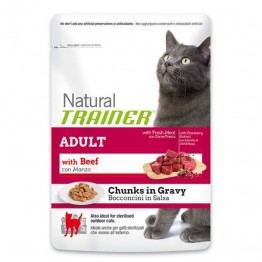 Trainer NATURAL Adult with Beef 85gr