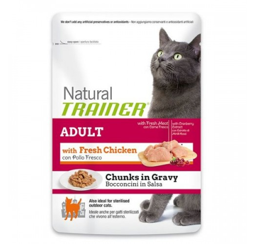 Trainer NATURAL Adult with Chicken 85gr