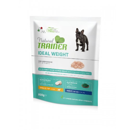 TRAINER NATURAL WEIGHT CARE MINI WHITE4 MEAT 800 G