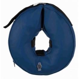 Schutzkragen, aufblasbar, XS, blau
