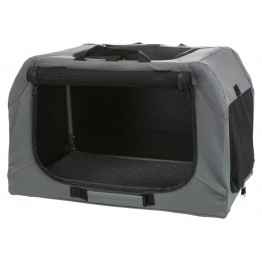 Soft Kennel Easy, S-M: 71×49×51cm, grigio