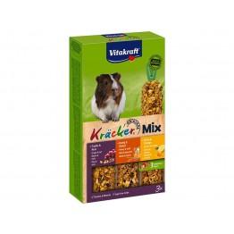 Kräcker® Mix + noci / miele / citrus per porcellini d'India 3pz.