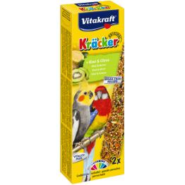 Kräcker Kiwi Grosssittich 2er