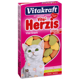 Vita  Herzis Katze 50Stk.