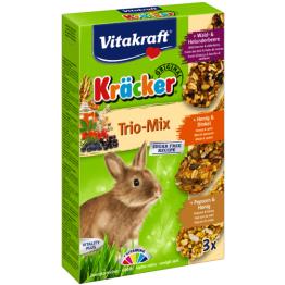 Kräcker Honig/Popcorn/Weizenk. ZK 3er