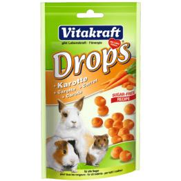 Drops Karotte zuckerfrei alle Nager 75g