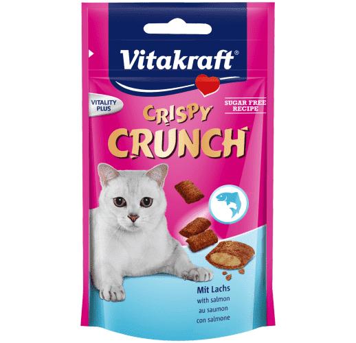 Crispy Crunch Lachsfüllung Katze 60g