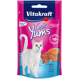 Cat Yums® + Salmon & Omega 3 - 40gr.