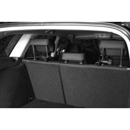 Auto-Schutzgitter, silber/schwarz 96-163 cm
