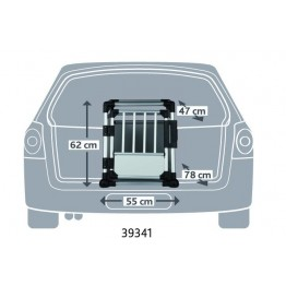 CAR BOX ALU TRANSP. Trixie T39341, 55