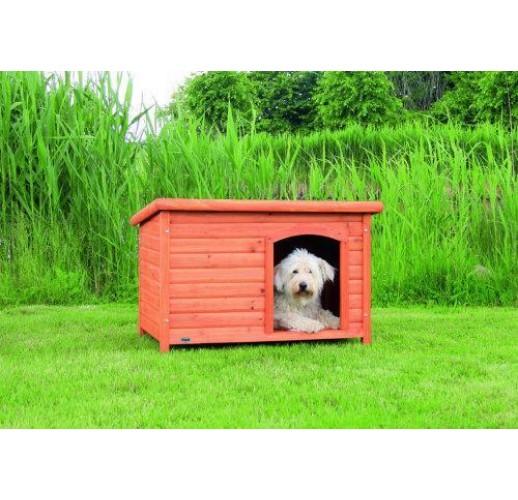 Cuccia per cani natura Classic, con tetto apribile 104x72x65cm