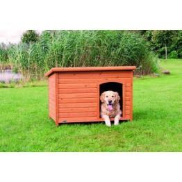 Cuccia per cani natura Classic, con tetto apribile 116x76x82cm