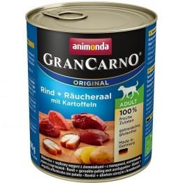 Animonda, GranCarno Adult con Manzo + anguilla affumicata e patate 800gr