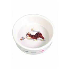 Ciotola in ceramica, con disegno 0,2 l/ø 12 cm