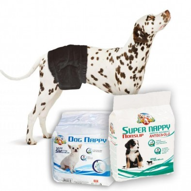 SLIP DOG, SANITARY BAGS, PUPPY PADS