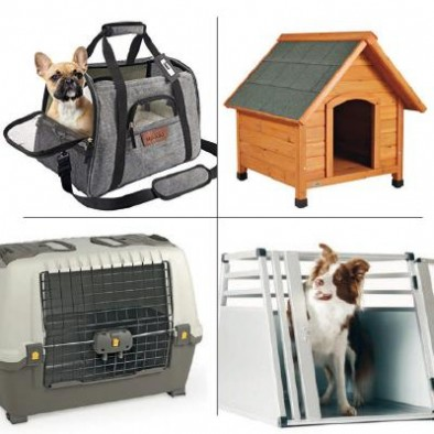 DOG CARRIERS CRATES KENNELS