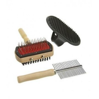 BRUSHES, COMBS, DOG CLIPPERS