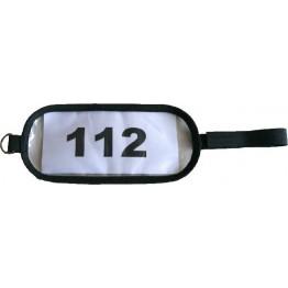 Fascia da braccio per il numero del concorrente