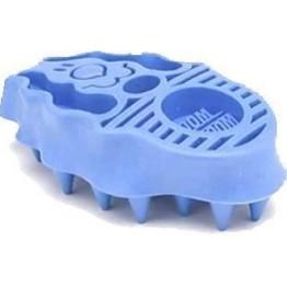 Zoom Groom spazzola per cani a pelo lungo e corto - blu 11 x 6.5cm