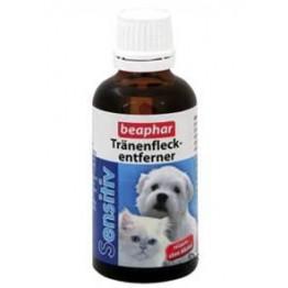 Beaphar Sensitiv, Rimuove le tracce di lacrime, per cani e gatti, 50 ml
