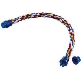 Corde-perchoir multicolore L 72cm