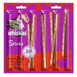 Whiskas Sticks Rind 6x6g