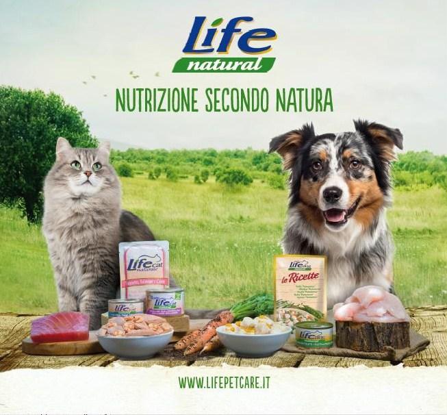 NATURAL LIFE ALIMENTI NATURALI PER CANI E GATTI